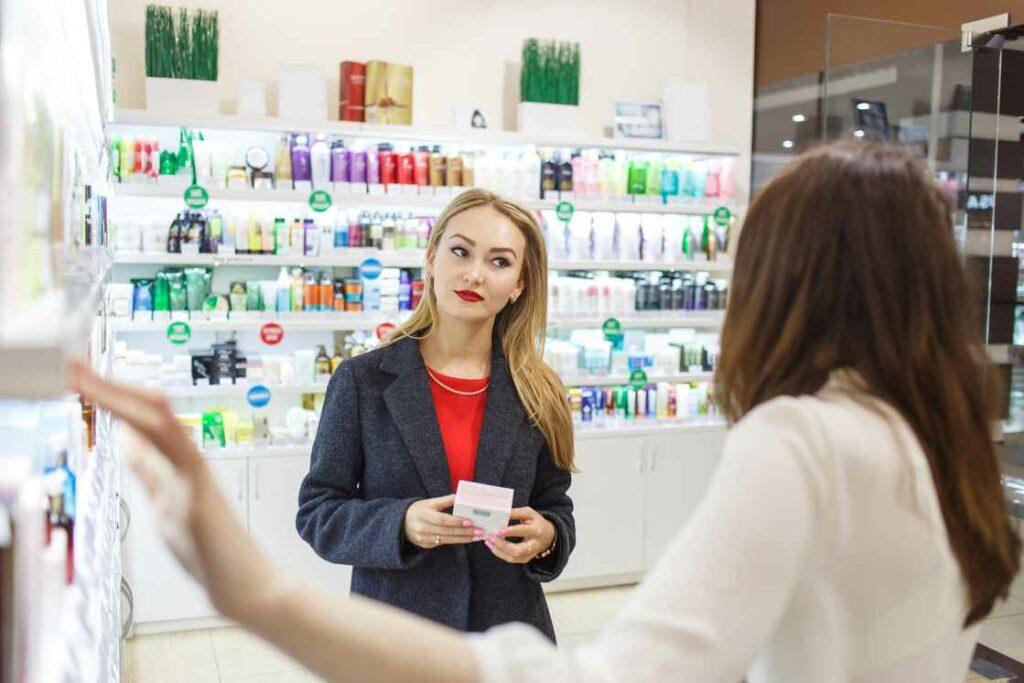 conseille cosmétique