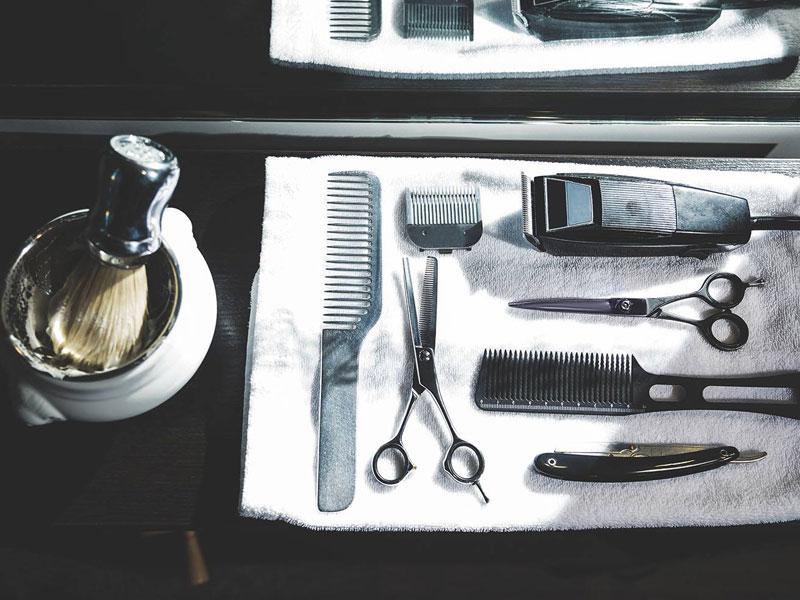 matériel de rasage